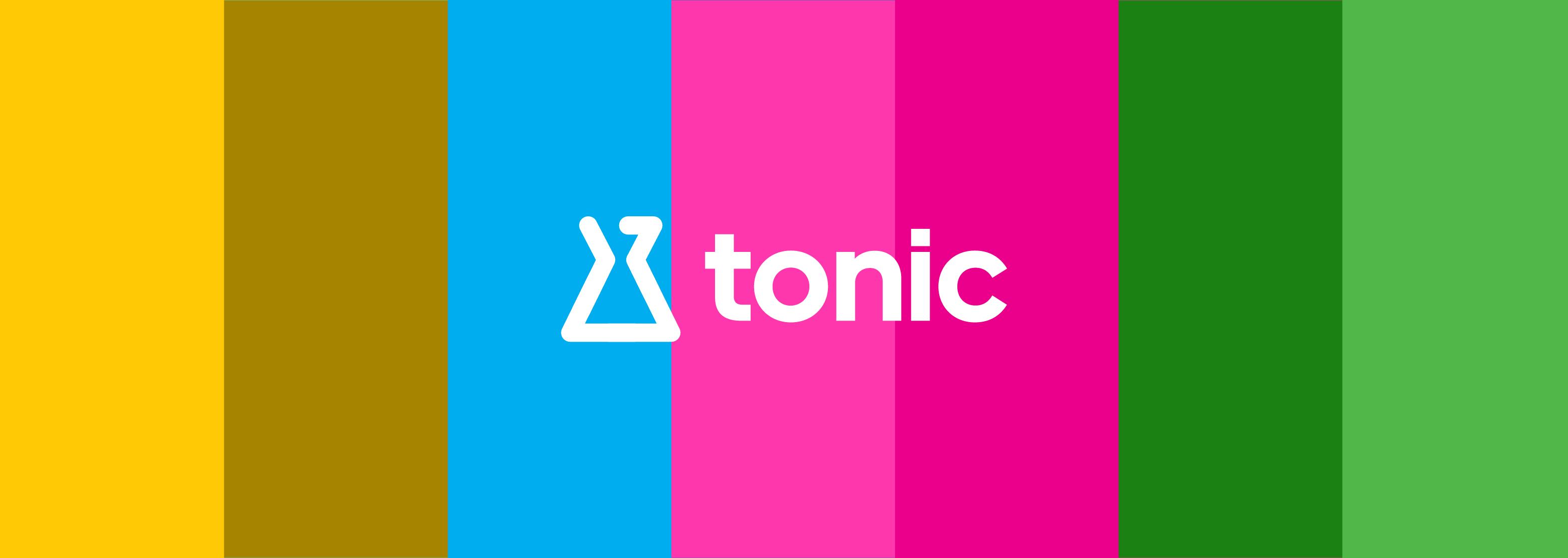 Tonic Logo Banner